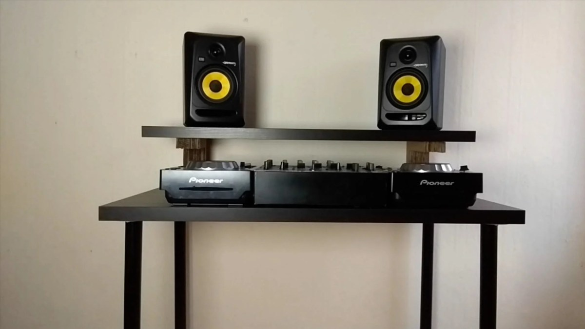 Make a Music Production Desk with only 40 pounds