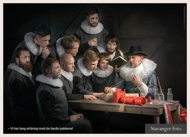 Photographer turns to IKEA for Rembrandt photo shoot