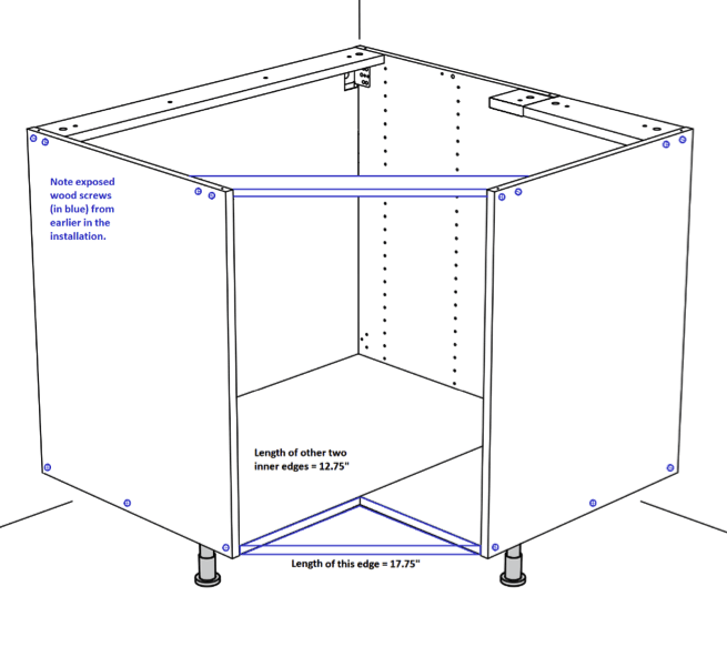 Corner Sink Part - 48: How To Hack A Flat Front IKEA Corner Sink