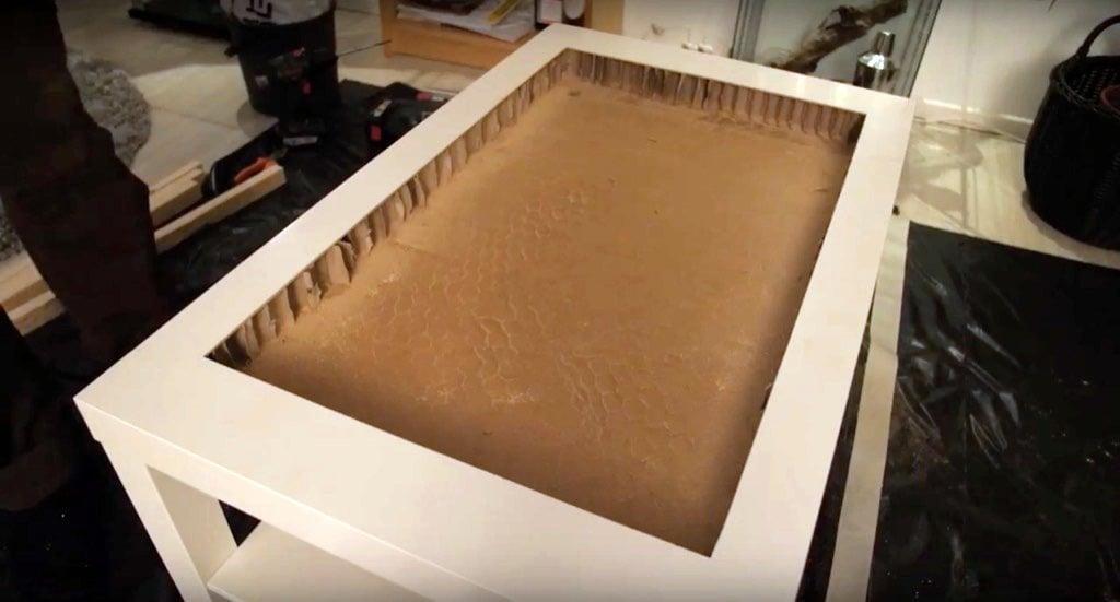 Transform An IKEA Table Into An Infinity Mirror Coffee Table