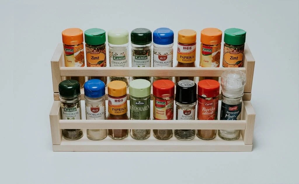 Spice Organizer from two IKEA spice racks