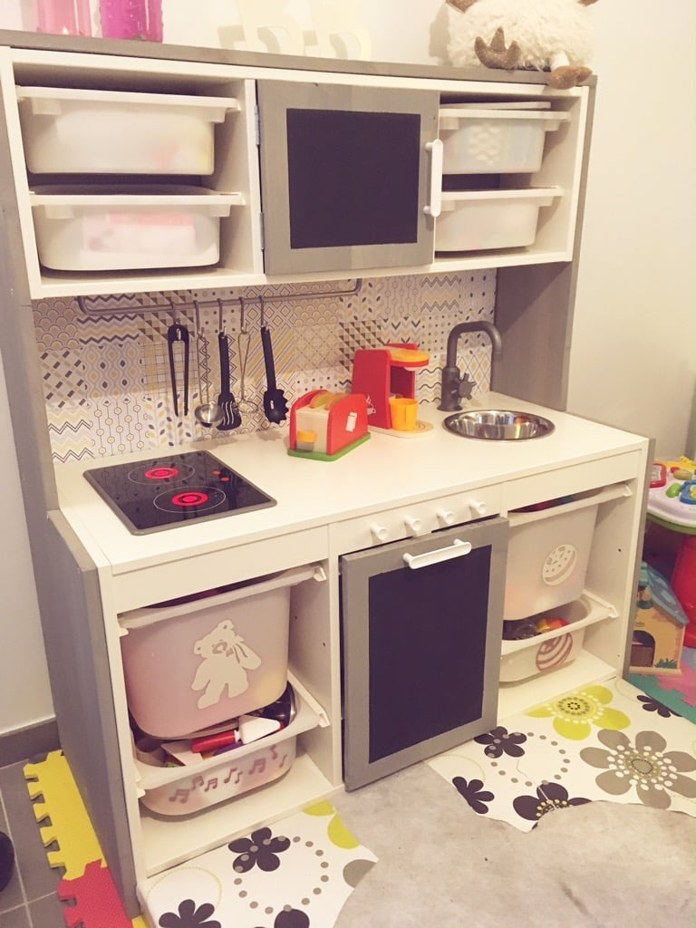 kids kitchen with lots of storage just like a real kitchen - Kids Kitchen