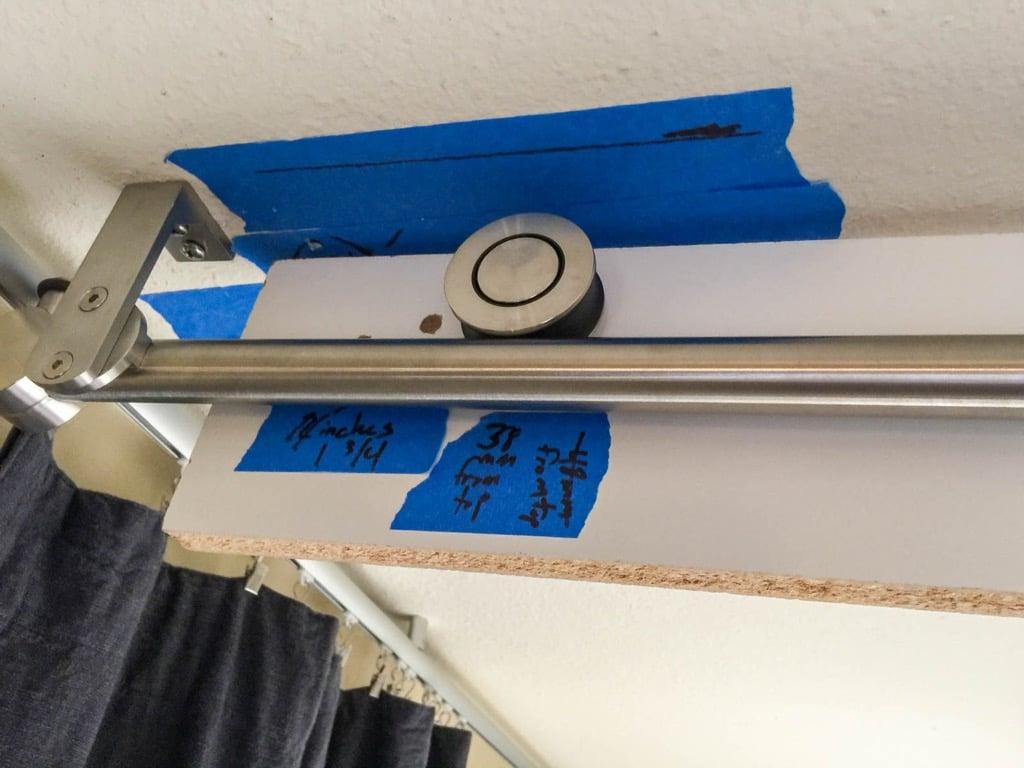 Mirror Barn Door To Separate Ensuite From Bedroom Ikea