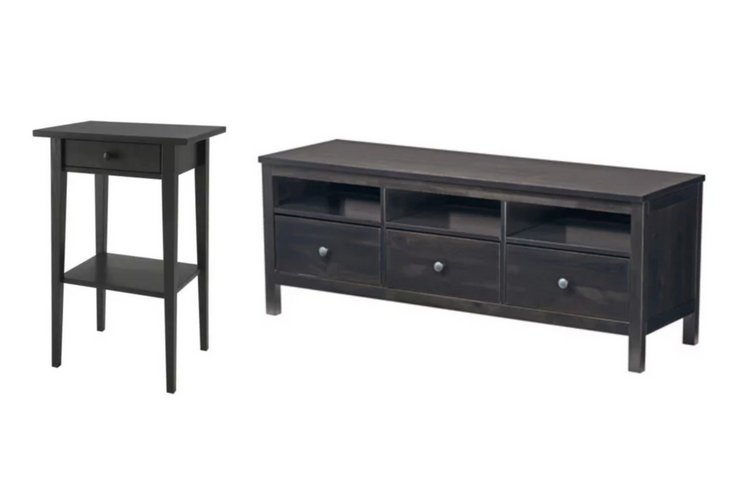 IKEA HEMNES in black