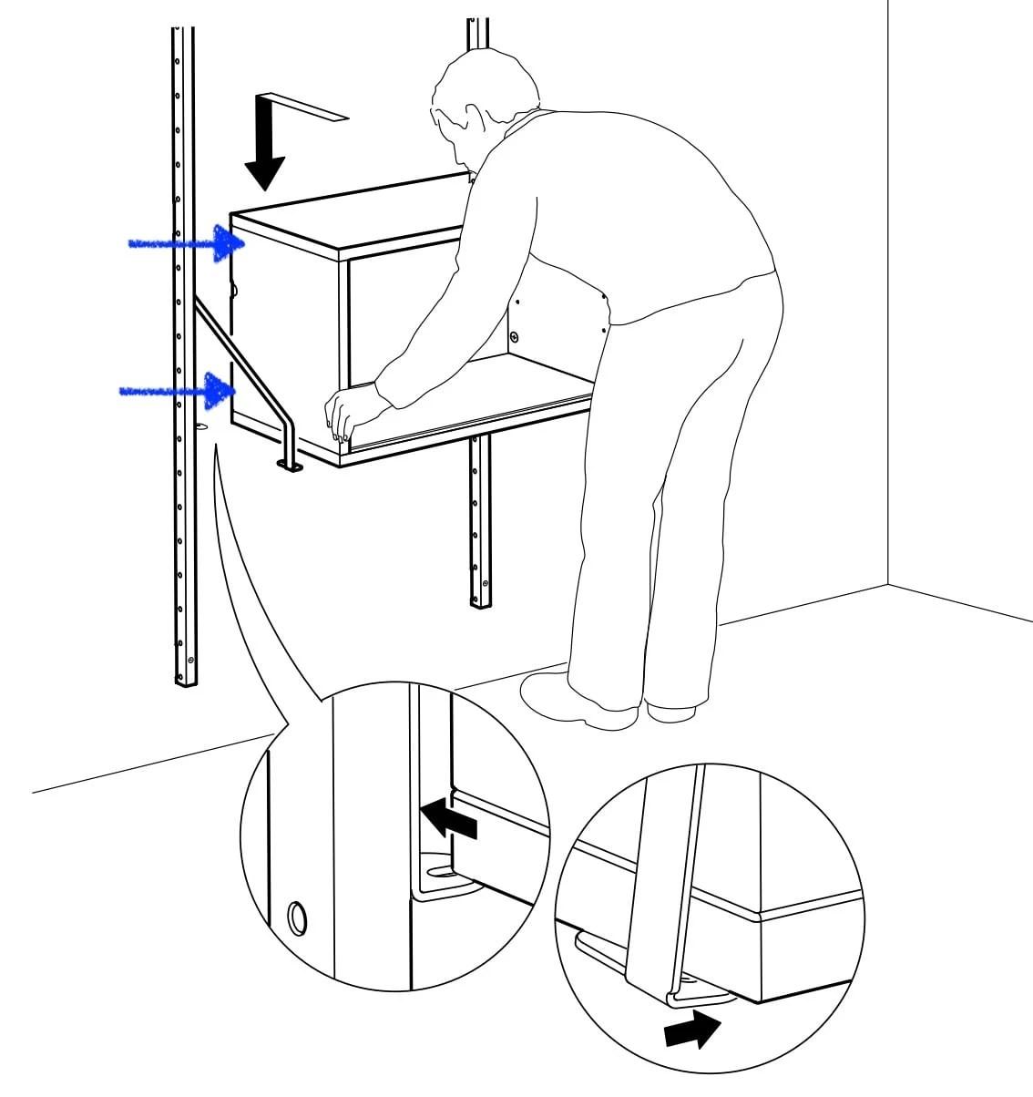 Make IKEA SVALNÄS rental friendly?