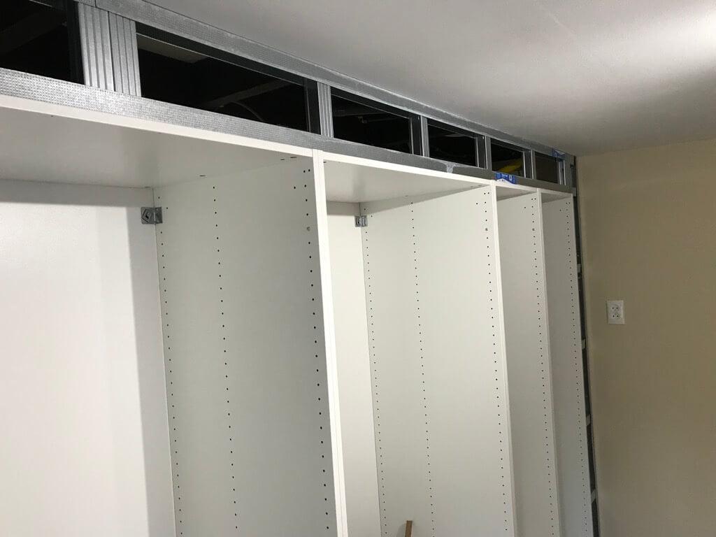 PAX built-in wardrobe for master bedroom