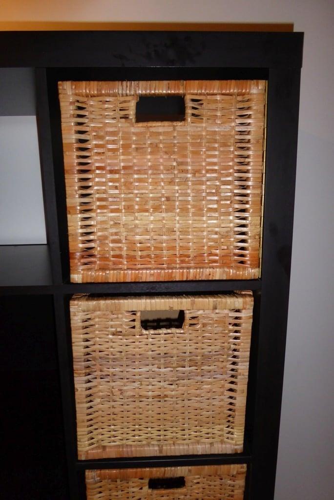 Rattan doors for the EXPEDIT / KALLAX cubbies