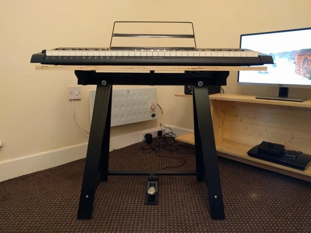 Single ODDVALD keyboard stand (or side table)
