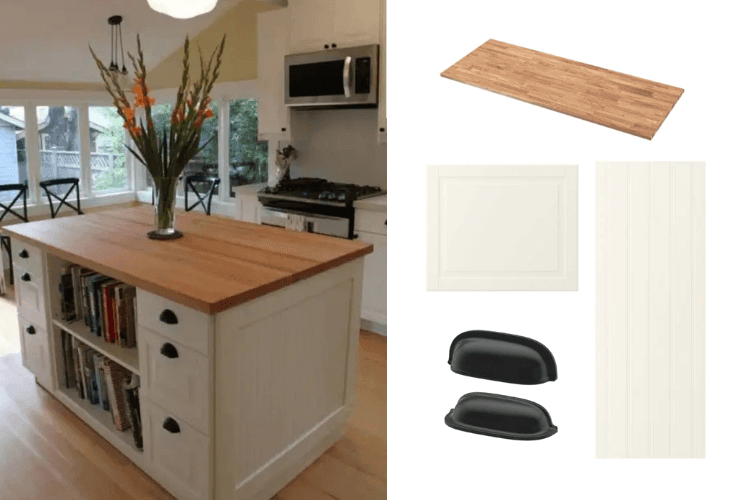 Hackers help: How to make this kitchen island?