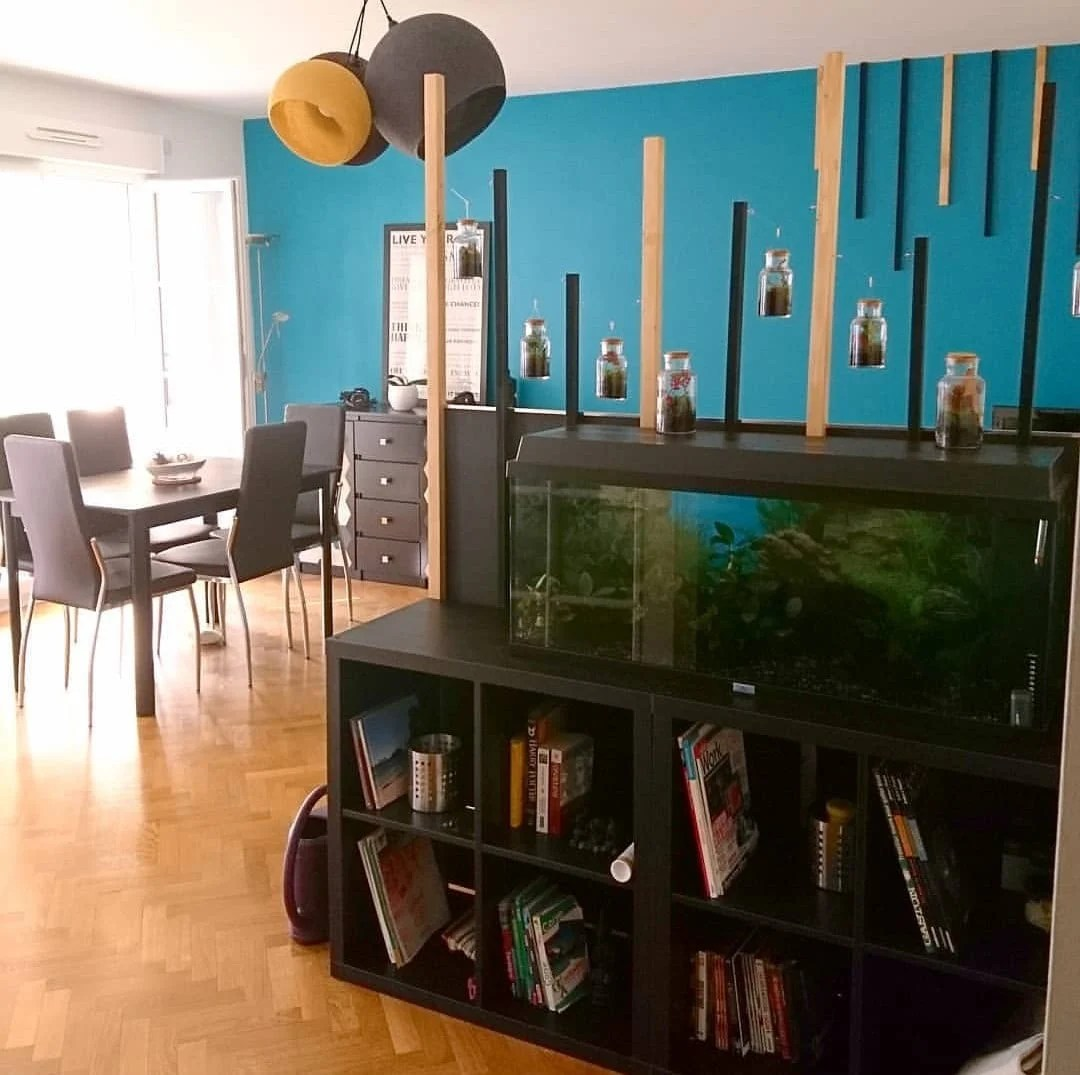 Easiest Fish Tank Stand Ever And Diy Room Separator Ikea