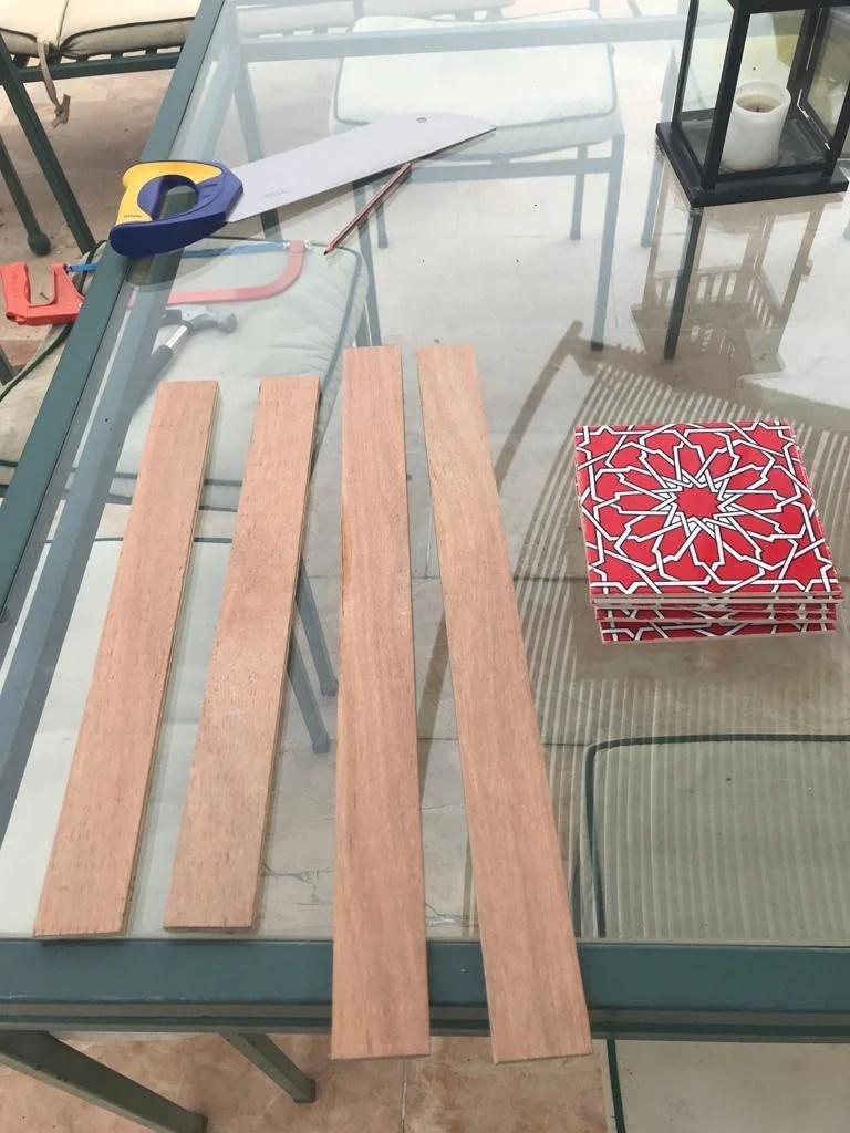 ceramic tile coffee table ikea hackers