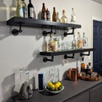 Floating Shelves Turned Industrial Pipe Shelving Ikea Hackers
