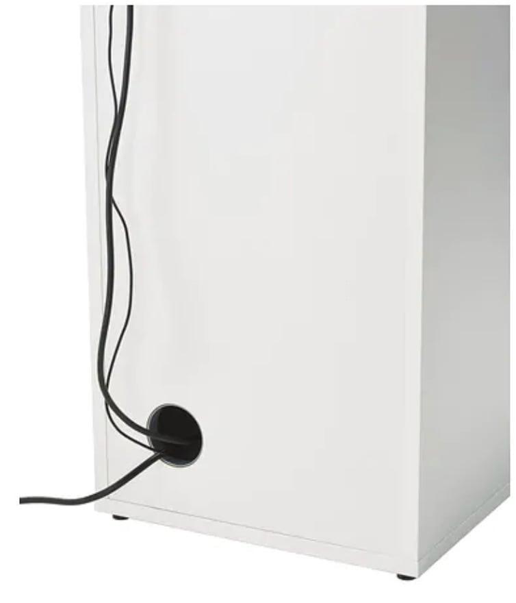 ALEX storage unit (back view)