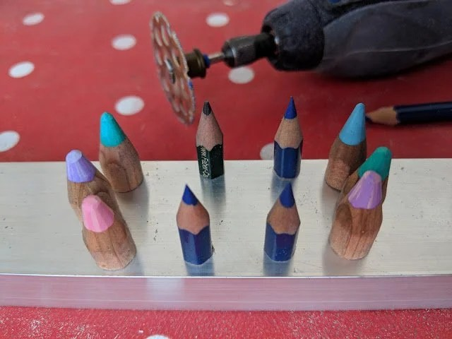 pencil marking technique