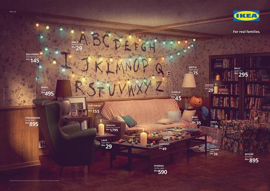 Stranger Things Living Room IKEA