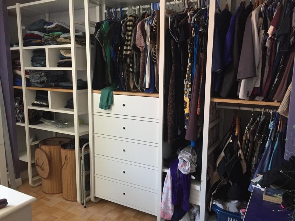 ELVARI Closet installed