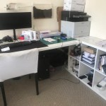 Help Kallax Desk Combination In Horizontal Position Ikea Hackers