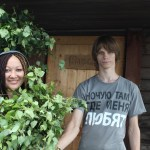 Flora and Simon.