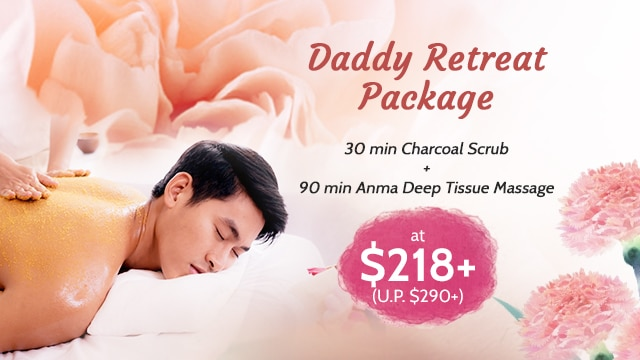 mother's day spa and father's day spa gift ikeda spa 2020 - dad package