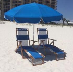 Beach Chairs Rental Set - Ike's Beach Service