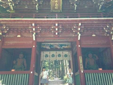 日立御岩神社 境内