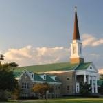 Central Schwenkfelder Church by Rt 363 in Montgomery County of Pennsylvania