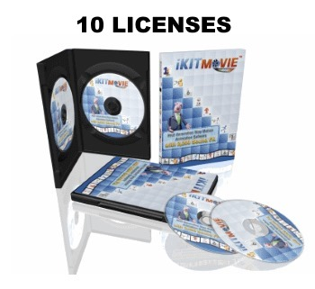 10 PackShot all 350 - iKITMovie 10 User Pack