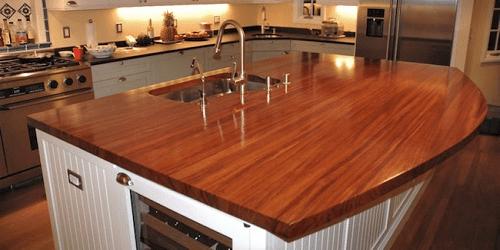 Modern Kitchen Marble Countertop
