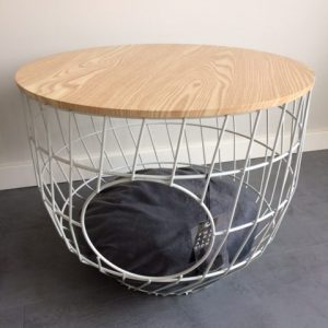 51DN Wire Cat Table wit