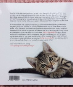 Achterkant opvoedgids voor kittens