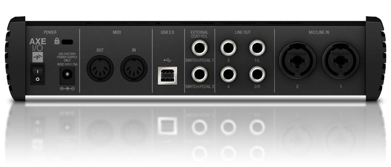AXE I/O - Back panel - Image 3