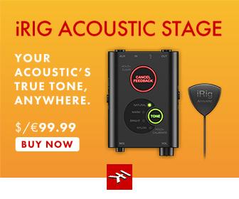 IK Multimedia's iRig Acoustic Stage