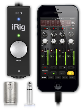 iRig PRO. For iPhone, iPad and Mac