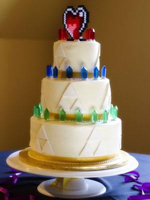 Legend Of Zelda Wedding Cake Topper