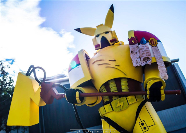 Warhammer-Pikachu by Sunday Cosplay