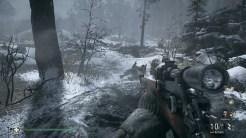 Call of Duty WWII Schmerzen im Schnee