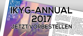 Das IKYG-Annual 2017 – Jetzt vorbestellen!
