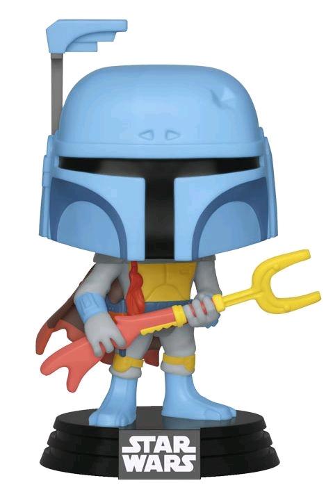 Star Wars – Boba Fett Animated US Exclusive Pop! Vinyl [RS]