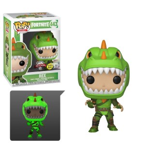 Fortnite – Rex Glow US Exclusive Pop! Vinyl [RS]