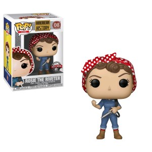 American History – Rosie the Riveter US Exclusive Pop! Vinyl [RS]