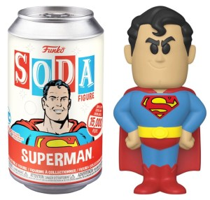 SUPERMAN – SUPERMAN VINYL SODA