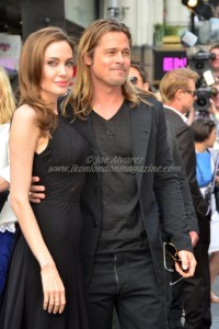Brad Pitt and Angelina Jolie At World War Z London Premiere © Joe Alvarez