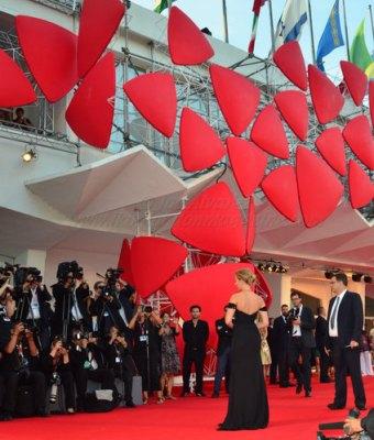 Scarlett Johansson at the Red Carpet of the Premiere of Under The Skin in Venice Film Festival © Joe Alvarez