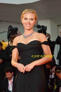 Scarlett Johansson at the Premiere of Under The Skin in Venice Film Festival © Joe Alvarez
