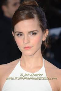 Emma Watson at the London Premiere of Noah