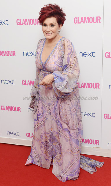 "Sharon Osbourne attends the ""Glamour Women Of The Year Awards"" at Berkeley Square."