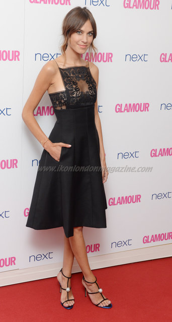 """Alexa Chung attends the """"Glamour Women Of The Year Awards"""" at Berkeley Square."""