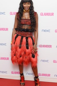 Naomi Campbell attends the