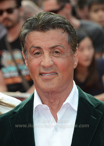 Sylvester Stallone at the World Premiere of The Expendables 3 © Joe Alvarez