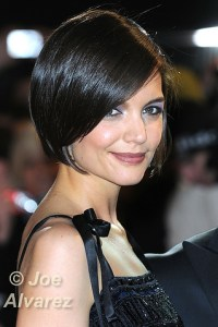 Katie Holmes arrives for the UK Premiere of